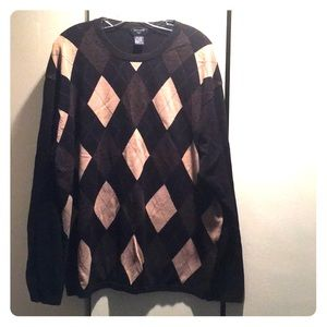 Men's dockers argyle crew sweater